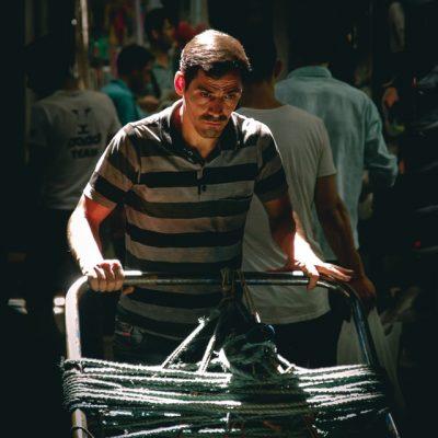 Pain - Worker, Iran (Photo by Khashayar Ko)